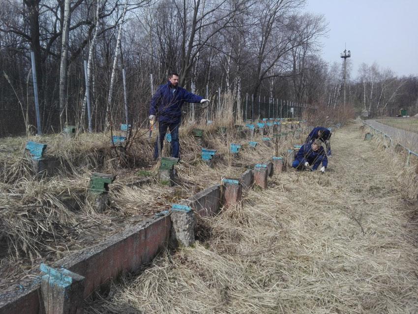 Коллектив ОКБ «АСТРОН» провел субботник, посвященный Дню весны и труда