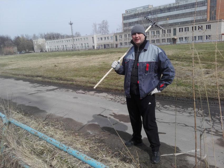 Cубботник в ОКБ «АСТРОН»