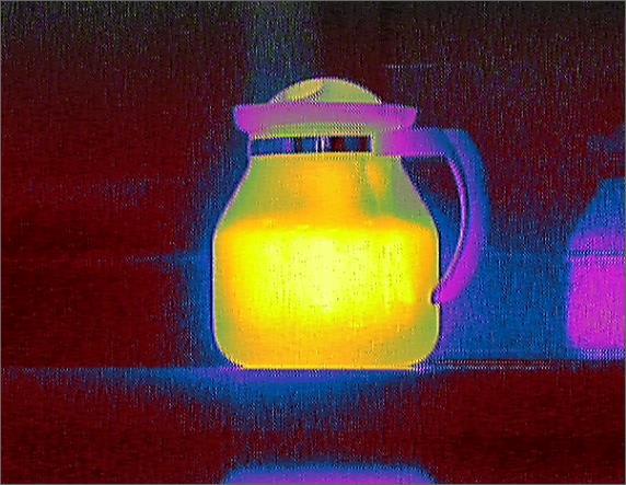 Cпециалисты ОКБ «АСТРОН» разработали цветовую палитру для тепловизионного модуля Iridium II