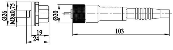 Dimensional drawings ВИС-14