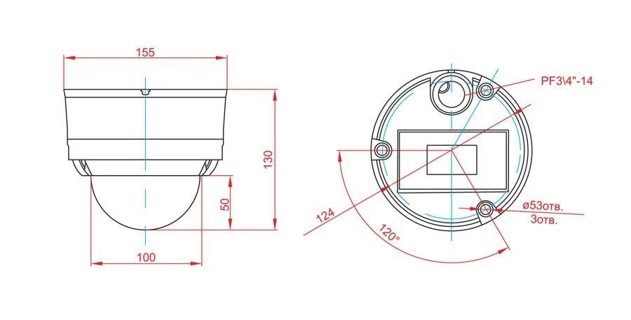 Dimensional drawings ASTROHN-5A-IQ2210