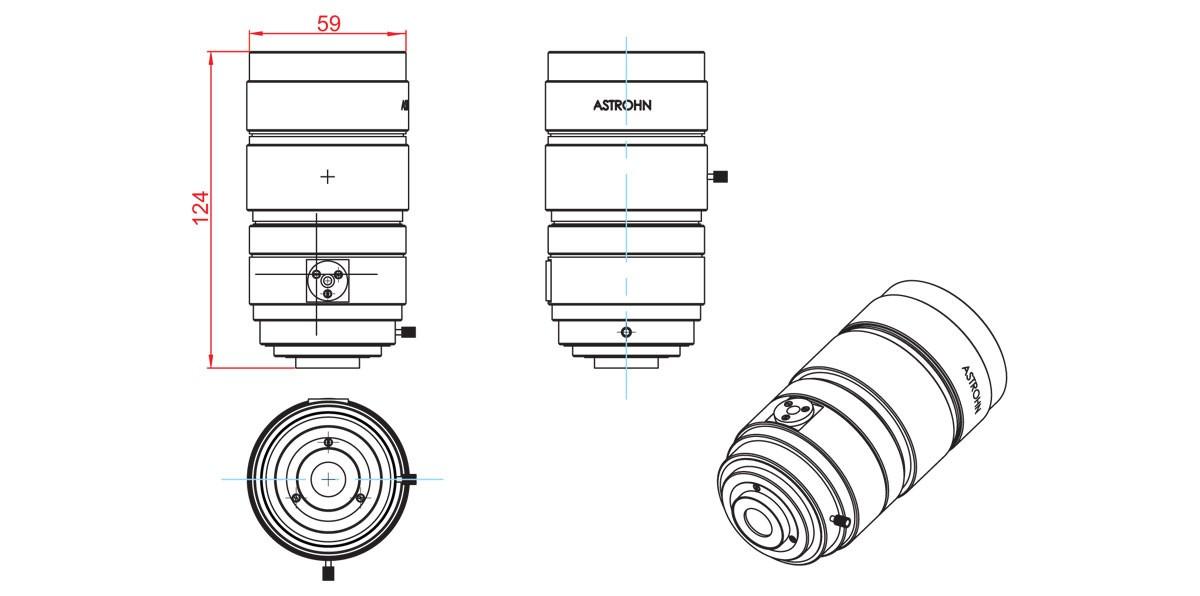 Clearance drawings ASTROHN-BA-558/1,3