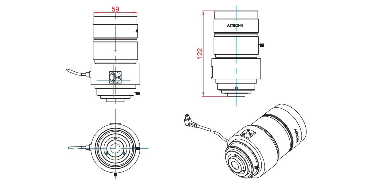 Clearance drawings ASTROHN-BA-945/1,0