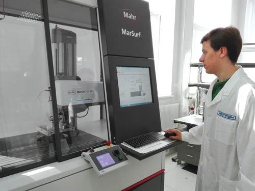 Профилограф для оценки качества поверхности покрытия и изучения ее микрогеометрии