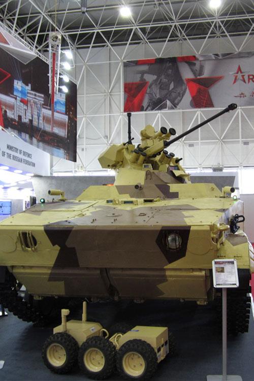 Выставка военных достижений — форум «Армия-2017»