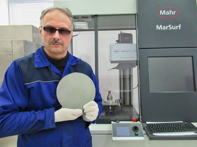 Монокристалл-заготовка для линзы диаметром 200 мм (Лыткарино)