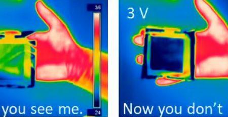 Новый метаматериал делает предметы невидимыми для тепловизоров