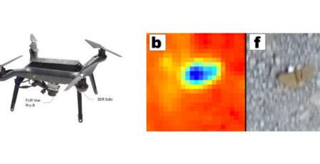 Инфракрасные системы, размещенные на платформах Drone, помогают разминированию в Афганистане