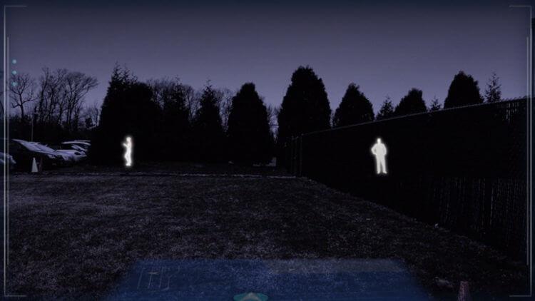 Пример работы ночного видения в IVAS