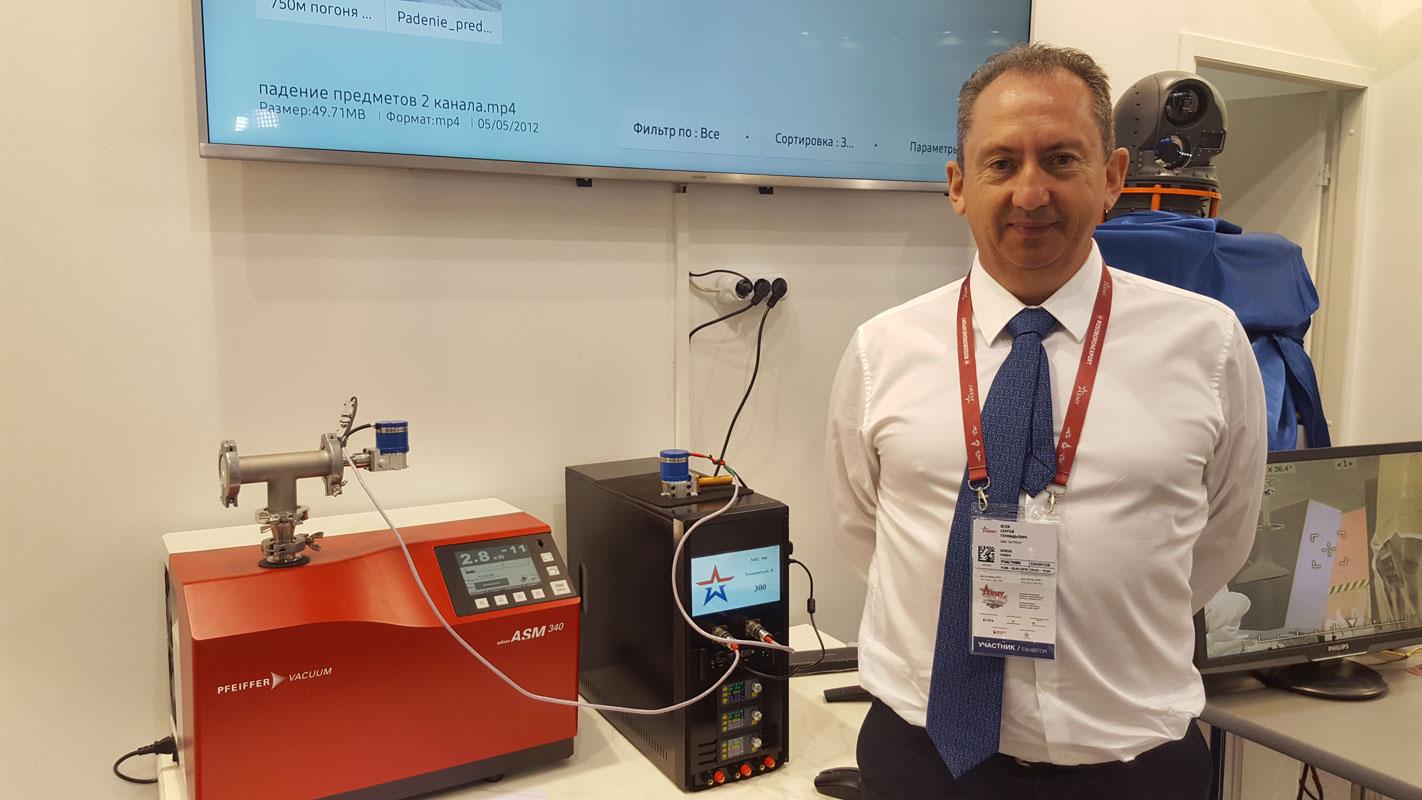 Интегральная микрокриогенная система (МКС) типа МКС500 на форуме «АРМИЯ-2019»